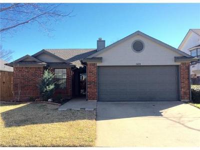 Grapevine Residential Lease For Lease: 1428 Thistlewood Lane