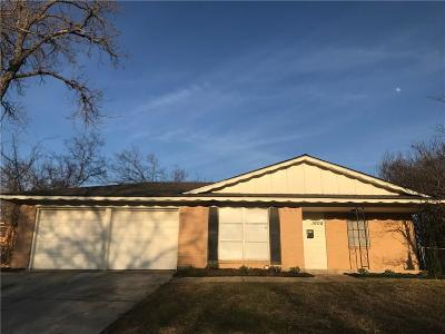 Mesquite Single Family Home For Sale: 1608 Poplar Drive