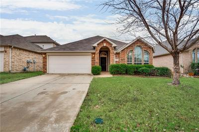 Fort Worth Single Family Home Active Option Contract: 4544 Butterfly Way
