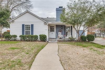 Fort Worth Single Family Home For Sale: 629 N Bailey Avenue