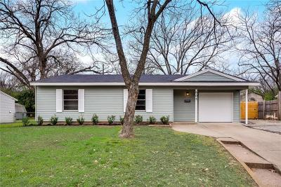 Irving Single Family Home For Sale: 603 Elaine Drive