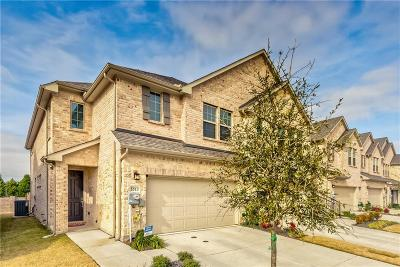 Denton County Townhouse For Sale: 5513 Liberty Drive