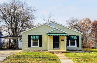 Fort Worth Single Family Home For Sale: 3116 Mims Street