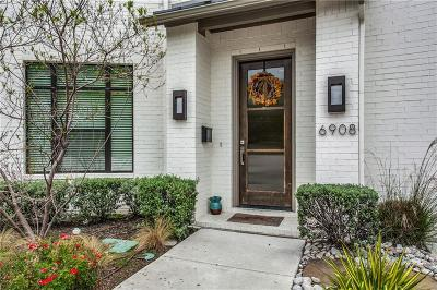 Dallas Single Family Home For Sale: 6908 Chantilly Court
