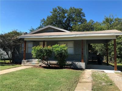 Fort Worth Single Family Home For Sale: 3320 Ryan Avenue