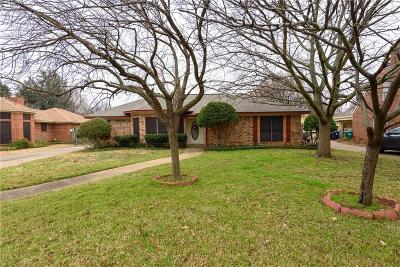 Denton Single Family Home For Sale: 1609 Amherst Drive
