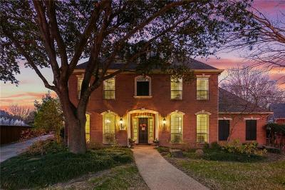 Allen Single Family Home Active Option Contract: 605 Bellmeade Court