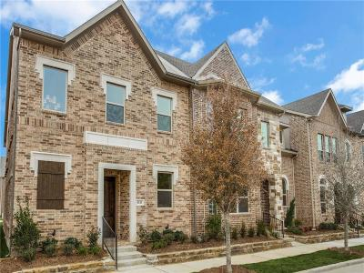 Denton County Townhouse For Sale: 4141 Broadway Avenue