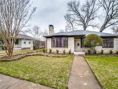 Single Family Home For Sale: 6163 Anita Street