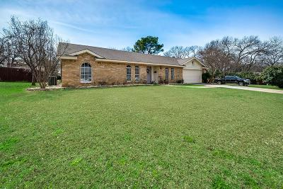 Euless Single Family Home Active Option Contract: 508 Copher Court