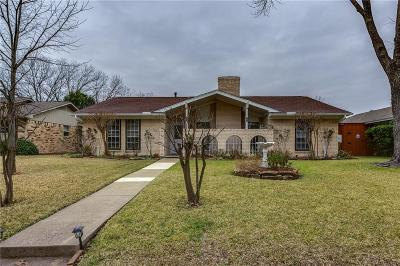 Garland Single Family Home Active Option Contract: 1513 Monterrey Drive