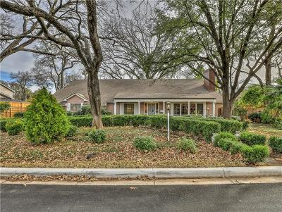 Fort Worth Single Family Home For Sale: 3313 Overton Park Drive E