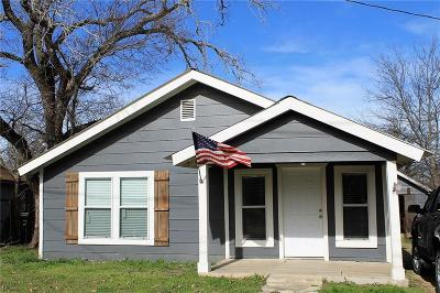 Stephenville Single Family Home Active Contingent: 405 E Broadway Street