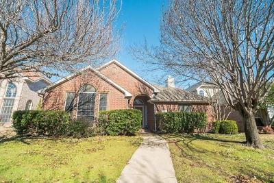 Plano TX Single Family Home For Sale: $302,500