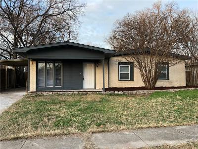 Arlington Single Family Home For Sale: 1819 Reever Street