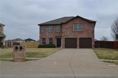 Waxahachie Single Family Home For Sale: 116 Branding Iron Drive
