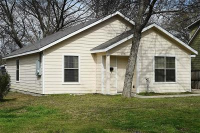 McKinney Single Family Home For Sale: 1104 Hall Street