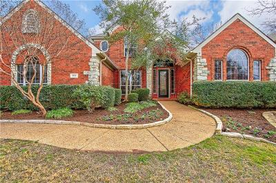 Flower Mound Single Family Home Active Option Contract: 1912 Woodland Boulevard