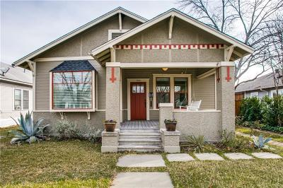 Dallas County Single Family Home For Sale: 906 N Clinton Avenue