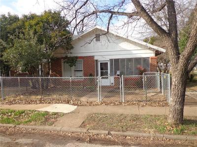 Single Family Home For Sale: 1207 Irma Street