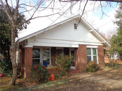 Single Family Home For Sale: 1209 Irma Street