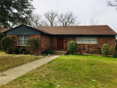 Fort Worth Single Family Home For Sale: 2816 Tex Boulevard