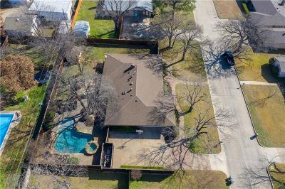 Colleyville Single Family Home Active Option Contract: 508 Hillside Road
