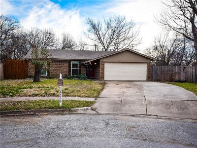 Watauga Single Family Home Active Option Contract: 5754 Haney Drive
