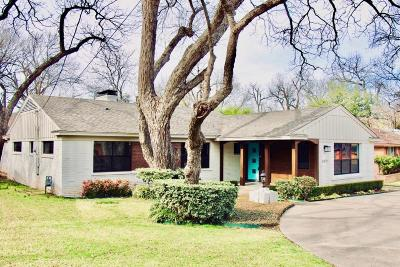Single Family Home For Sale: 3615 Holliday Road