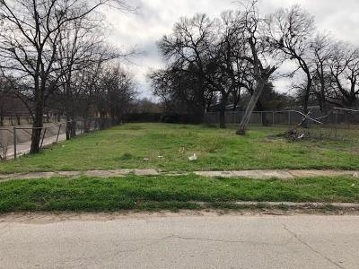 Dallas County Residential Lots & Land For Sale: 3530 Gallagher Street