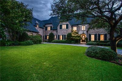 Dallas Single Family Home For Sale: 5805 Club Oaks Plaza