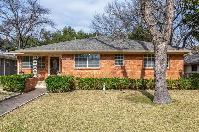 Dallas TX Single Family Home For Sale: $460,000