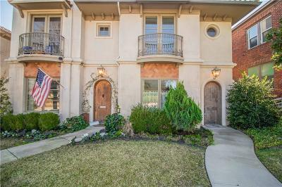 Tarrant County Townhouse For Sale: 3639 Crestline Road