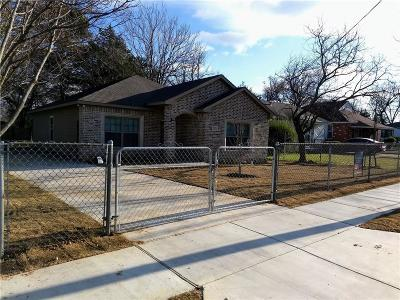 Dallas Single Family Home For Sale: 4010 Frank Street