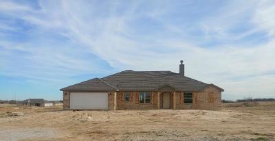 Parker County Single Family Home For Sale: 112 Springwood Ranch Loop
