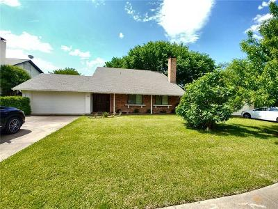 Richardson Single Family Home For Sale: 1604 Stacey Court