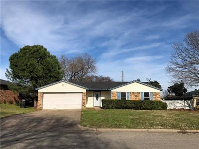 Johnson County Single Family Home For Sale: 1413 Clearfield Drive