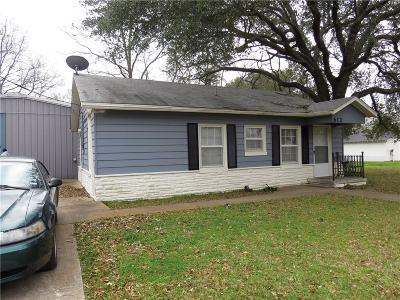 Teague Single Family Home For Sale: 612 Poplar Street