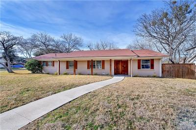 Dallas Single Family Home For Sale: 11201 Cotillion Drive