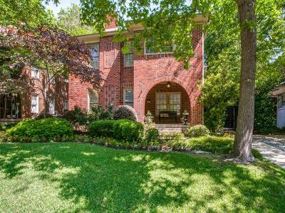 Dallas Single Family Home For Sale: 6313 Belmont Avenue