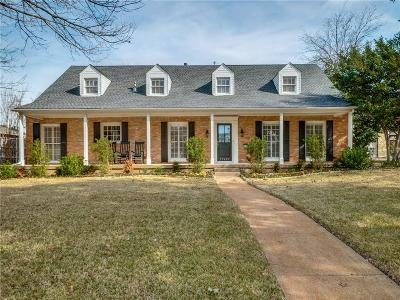 Single Family Home For Sale: 10422 Crestover Drive