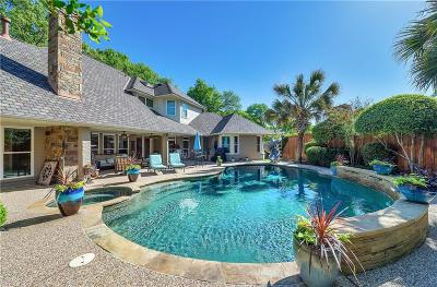 Fort Worth Single Family Home Active Option Contract: 4851 Moss Hollow Court