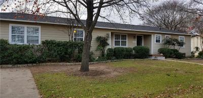 Royse City, Union Valley Single Family Home Active Option Contract: 713 Peterson Street