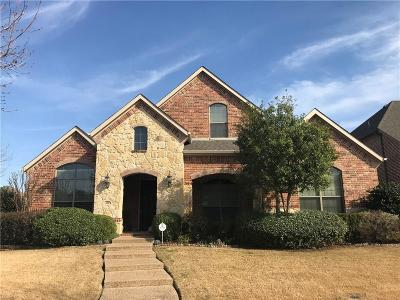 Lewisville Single Family Home Active Kick Out: 401 Red Castle Drive