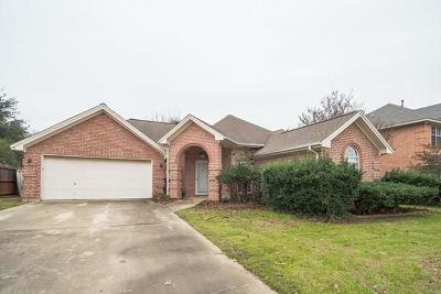 North Richland Hills Single Family Home For Sale: 7520 Wentwood Court