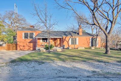 Irving Single Family Home For Sale: 106 Woodland Drive