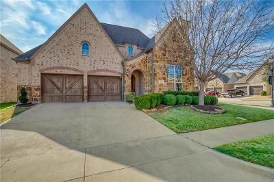 The Colony Single Family Home For Sale: 3104 Stonefield