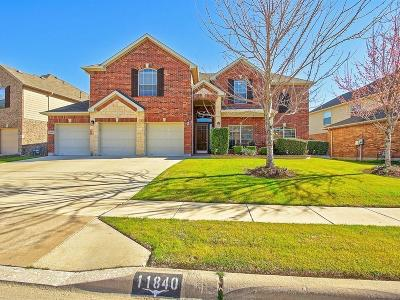 Fort Worth Single Family Home For Sale: 11840 Balta Drive