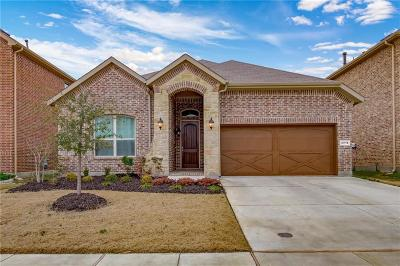 Lewisville Single Family Home Active Contingent: 2018 Milano Lane
