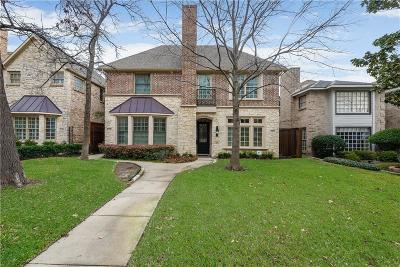 Dallas County Townhouse For Sale: 3451 Normandy Avenue